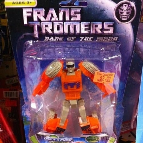 8. Robots in disguise: