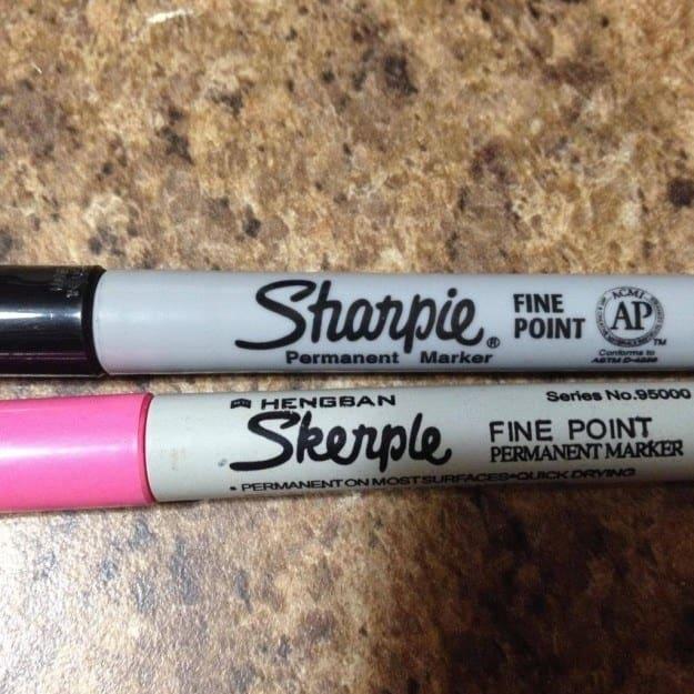 9. Sharpie's unfortunate cousin Skerple: