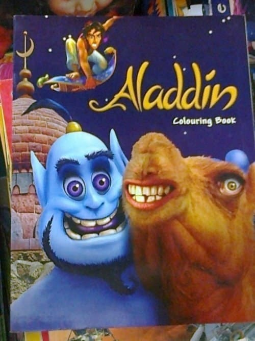 10. Aladdin's rebooted look: