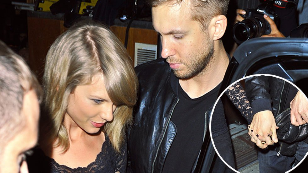 So the question is, Will Taylor write a song about Calvin?
