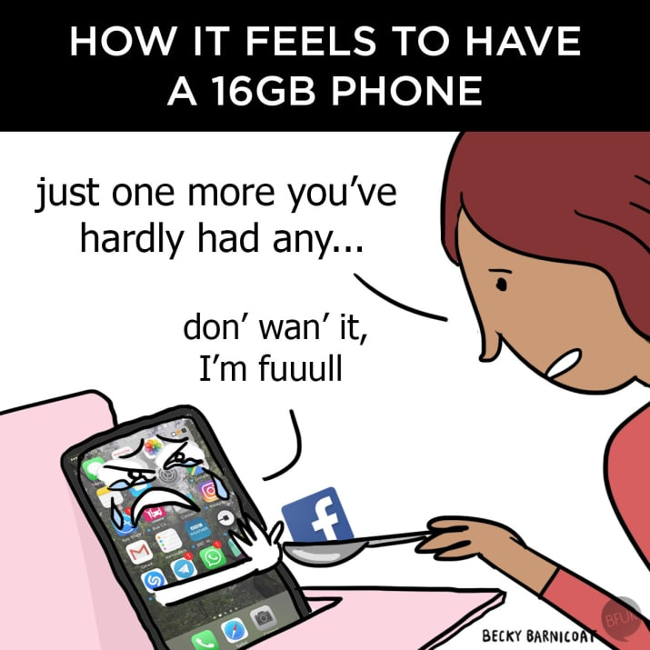 12. And sometimes your phone can be an absolute dick.