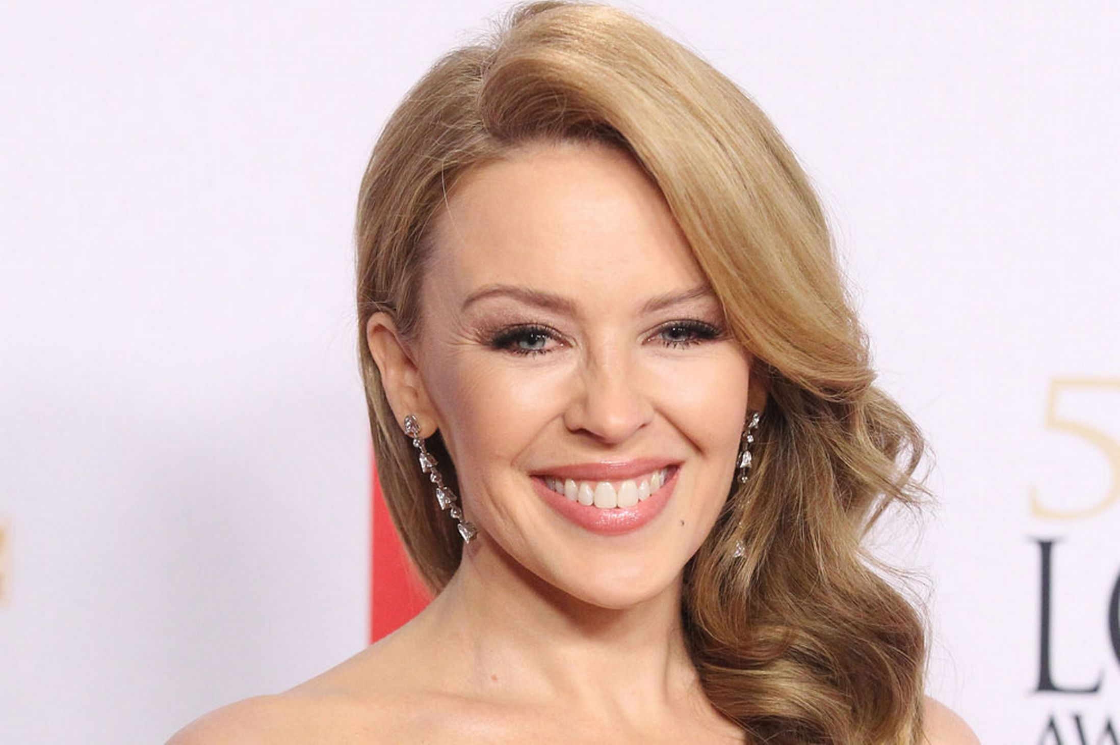 Kylie Minogue, the Australian singer