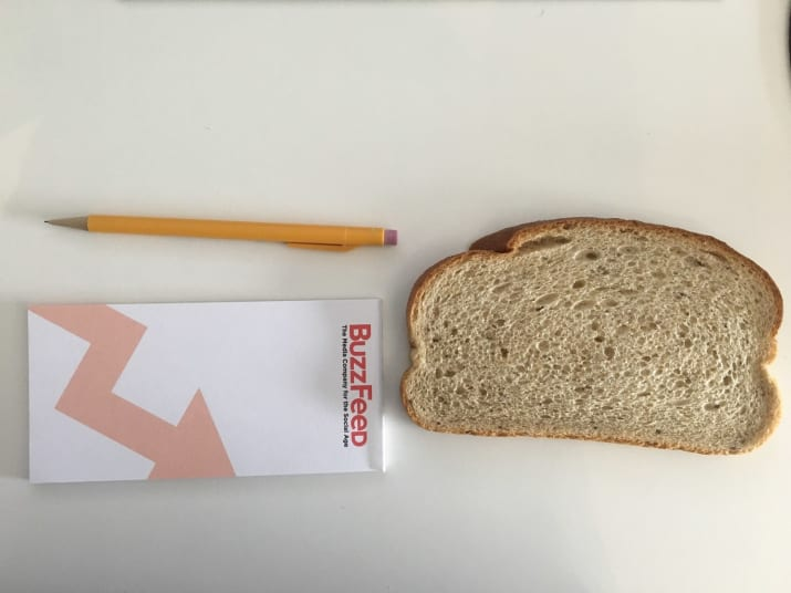 IKR? In the age of FAKE NEWS, I thought I'd try it out to see for myself, so I grabbed a slice of rye bread, a pad of paper, and a lead pencil.
