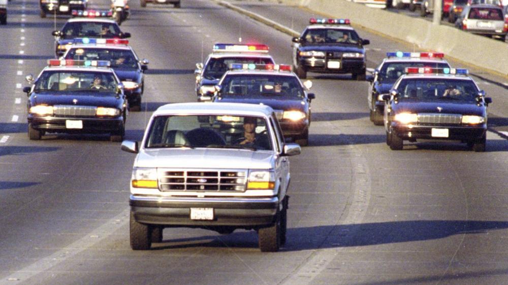 1. O.J. Simpson car chase
