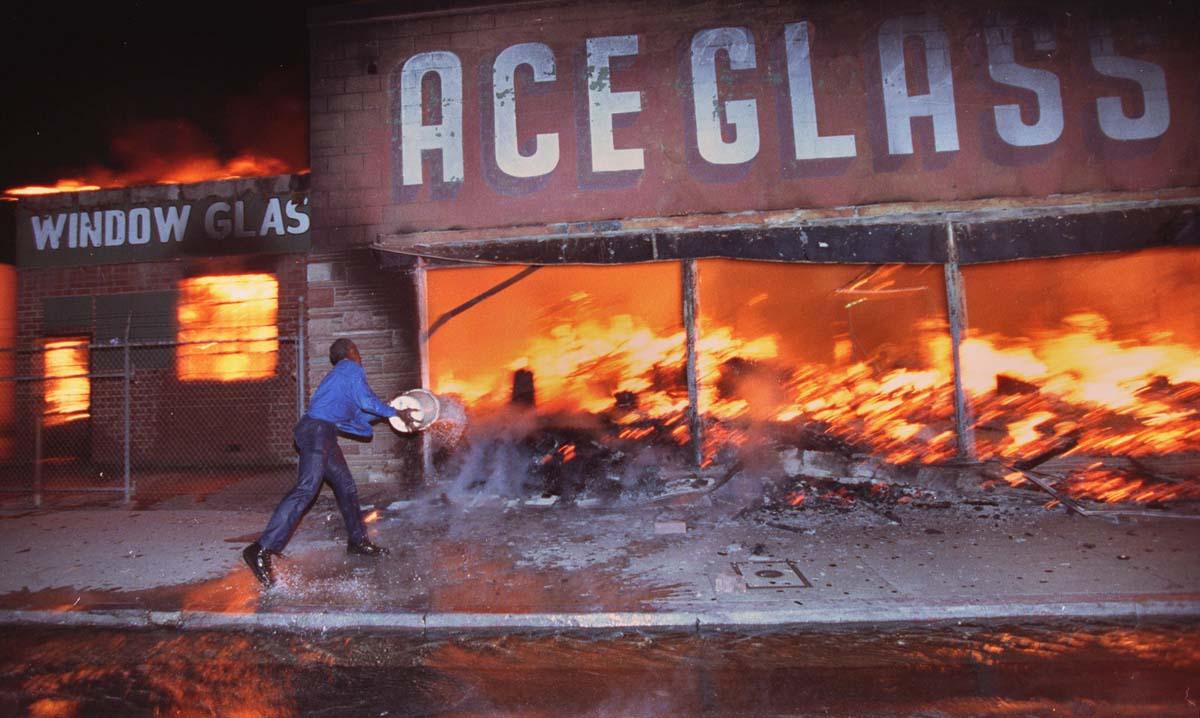 2. Los Angeles Rodney King Riots