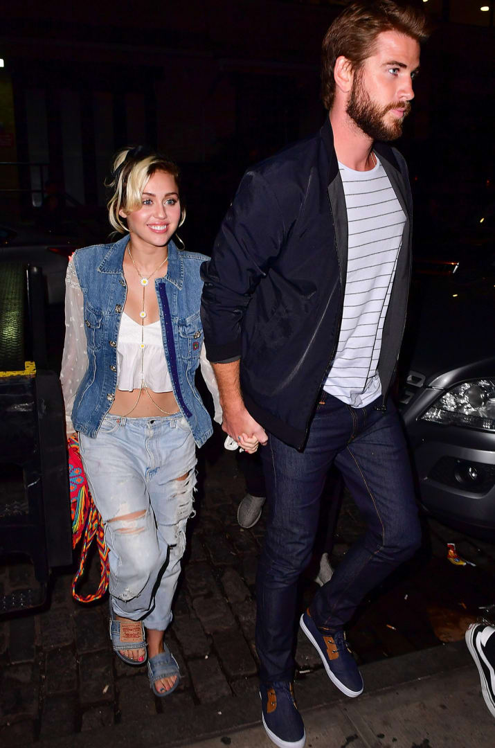 Miley Cyrus and Liam Hemsworth have had a rollercoaster of a relationship over the past few years — from dating, to splitting up, to maybe dating again, to definitely dating again, to now being engaged — it's been A LOT.