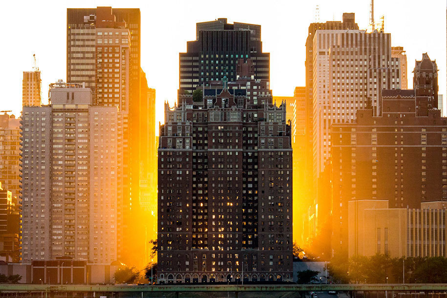 15. Lars Sivars of Sweden submitted this photo of a Manhattan sunset for the Open Competition, Architecture category.