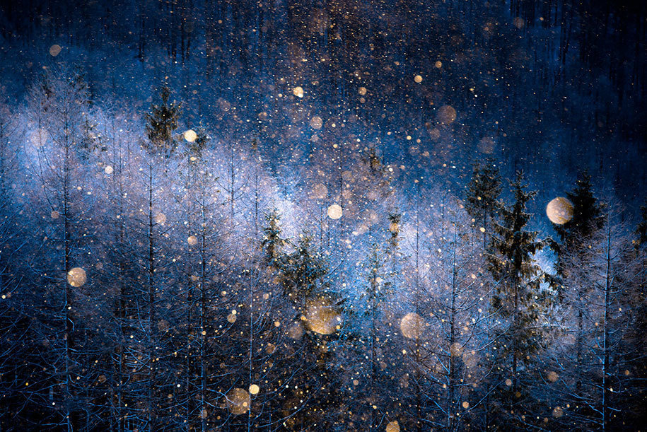 1. Masayasu Sakuma from Japan submitted this ethereal image of diamond dust for the Open Competition, Nature category.