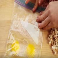 Dump 2 Eggs Into A Plastic Bag. A Few Ingredients Later, Enjoy An Irresistible Breakfast Treat