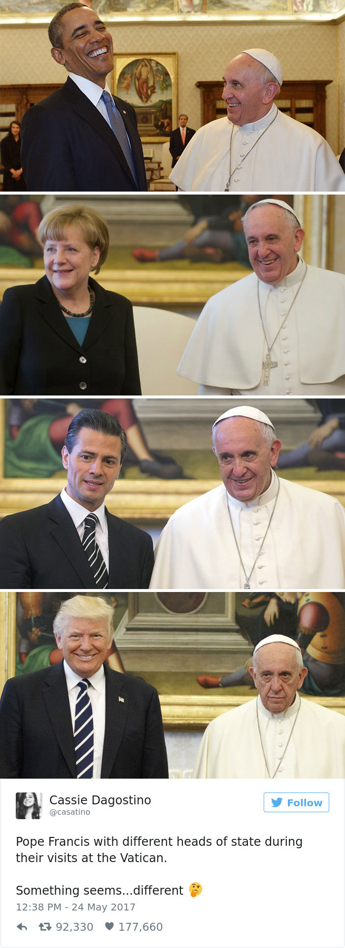 The Pope Loves All World's Leaders...