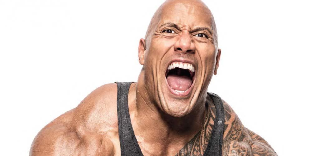 4. Dwayne 'The Rock' Johnson.