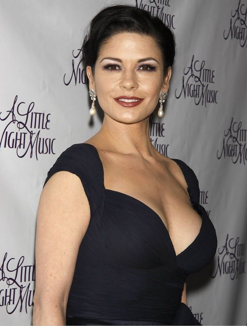 10. Catherine Zeta-Jones.