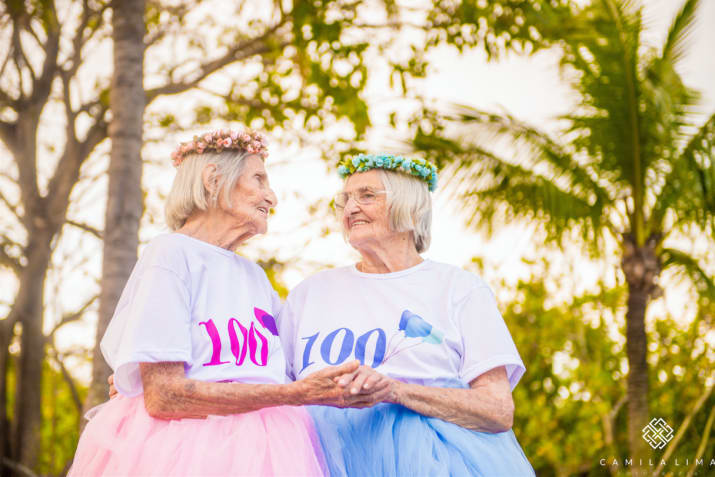 With 100 years of life under their belts, the twins have a lot to celebrate.