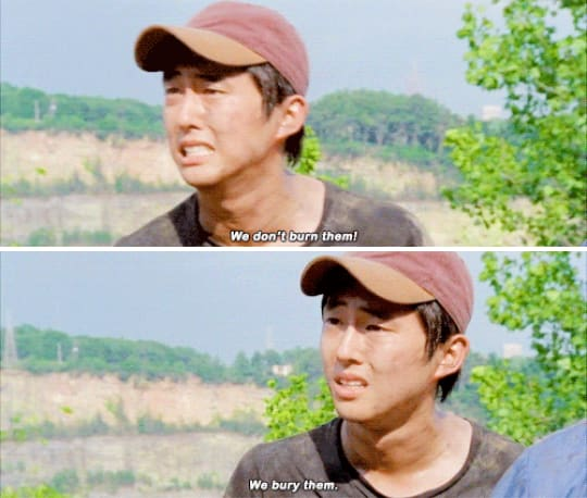 8. Glenn Rhee, The Walking Dead