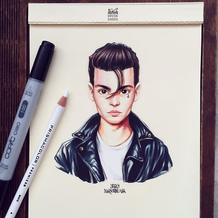 Johnny Depp In 'Cry Baby'