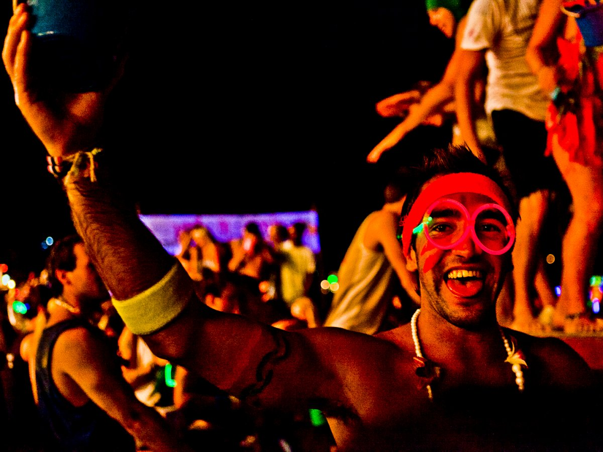 KOH PHANGAN, THAILAND: Thailand's Full Moon Party takes places across several locations throughout the year, but Koh Phangan is hailed as one of the most memorable.