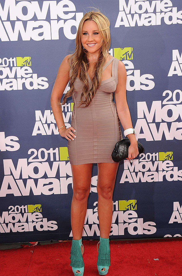 11. She regretted this look at the MTV Movie Awards.