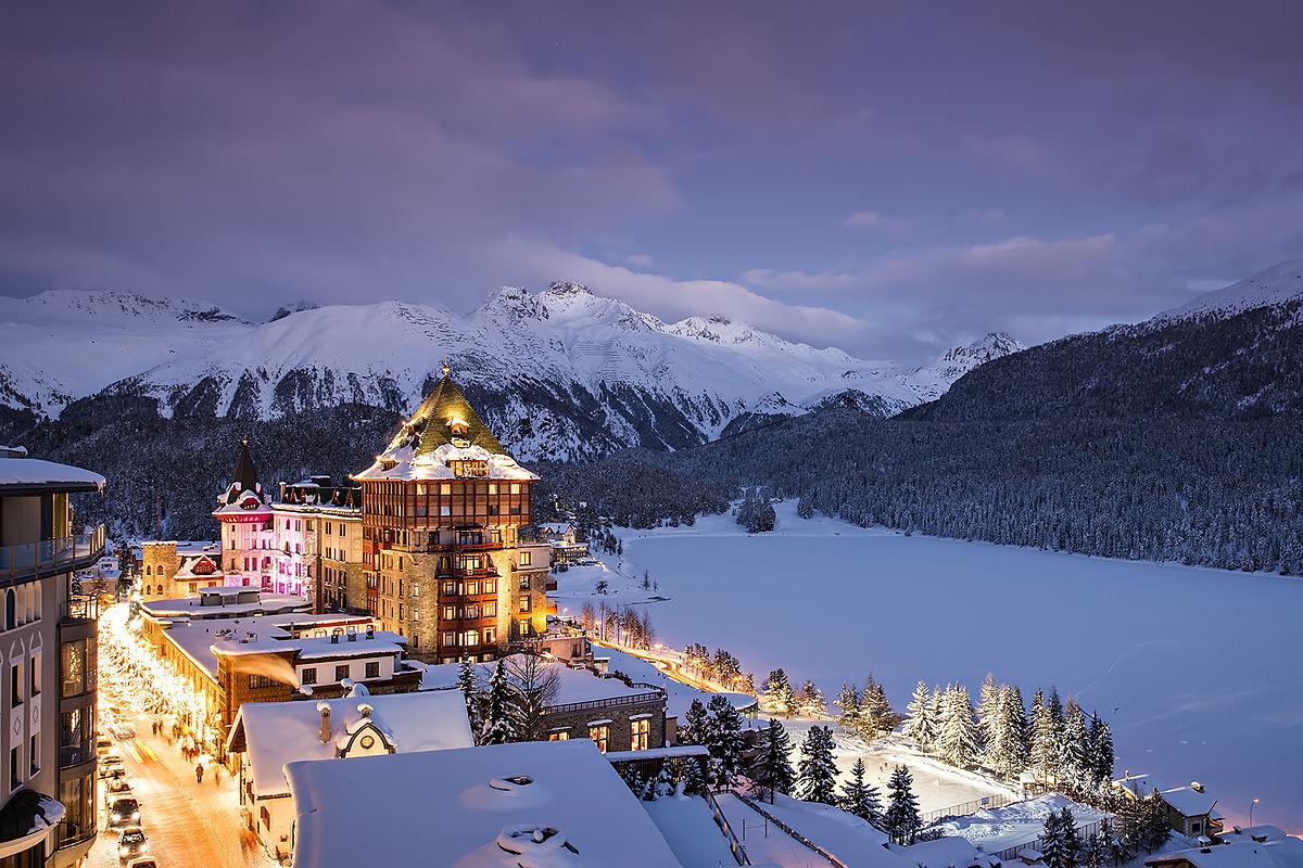 Badrutt's Palace- St. Moritz, Switzerland