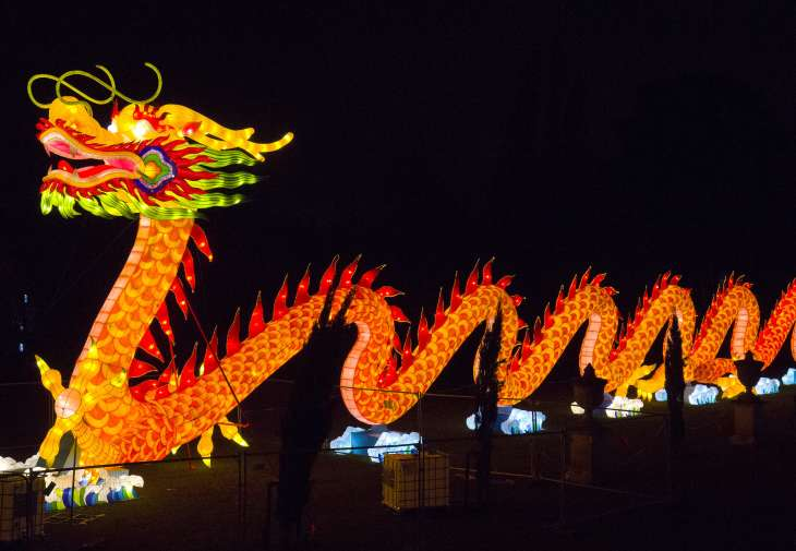 In many parts of Asia, dragons are treated as important cultural symbols.