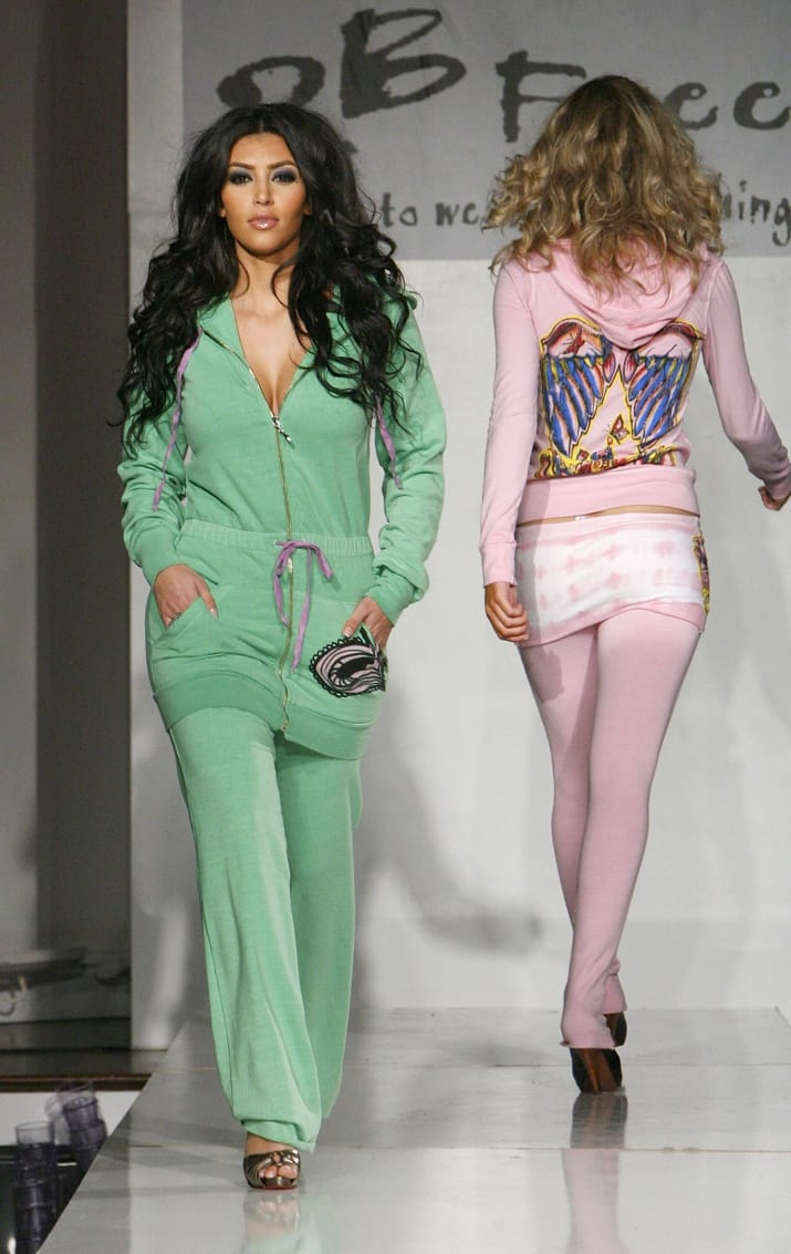 14. But even though Kim was treating Hollywood like her own Kitson dressing room runway...