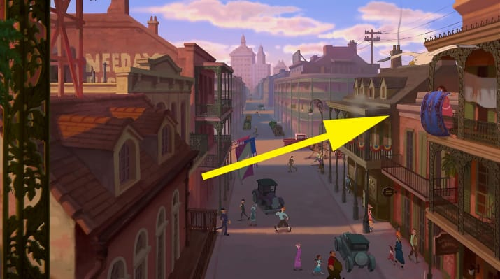 3. Aladdin's Carpet also makes a quick cameo during the