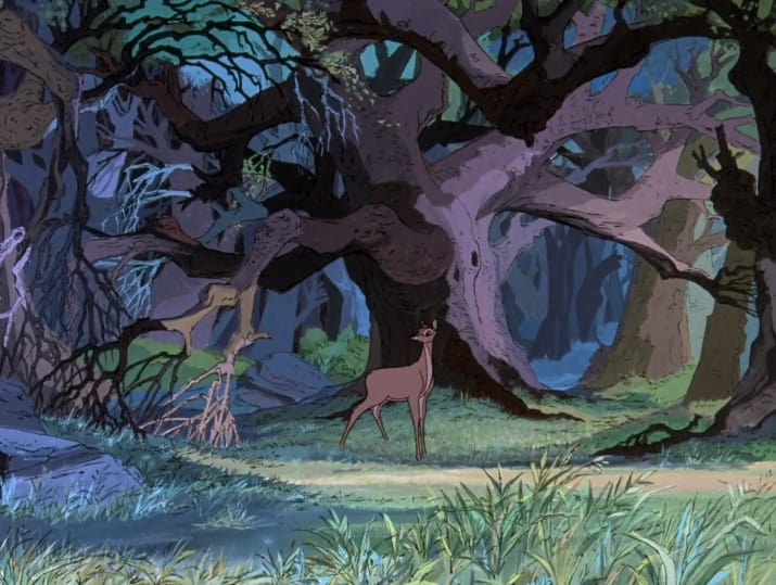 20. Bambi's mother is hunted by Sir Kay in The Sword in the Stone.