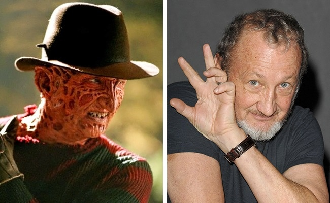 Freddy Krueger — Robert Englund (A Nightmare on Elm Street, 1984)