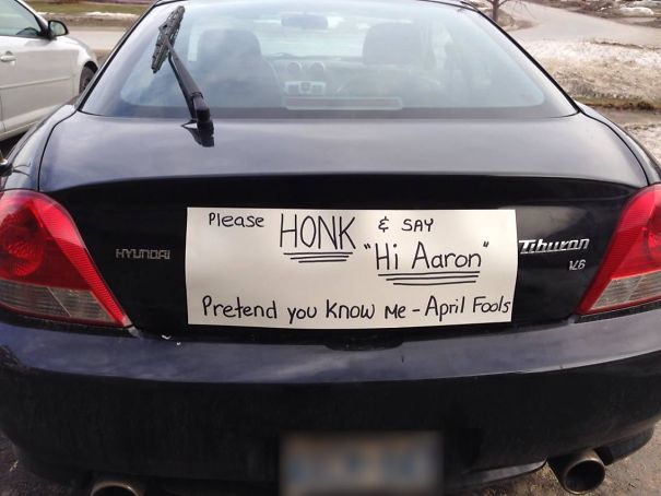 9. My Sister's April Fools' Prank On Her Husband