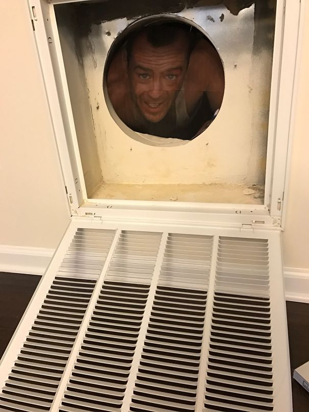 10. Was Wondering Why My Wife Was Giggling When She Asked Me To Change The Air Filters
