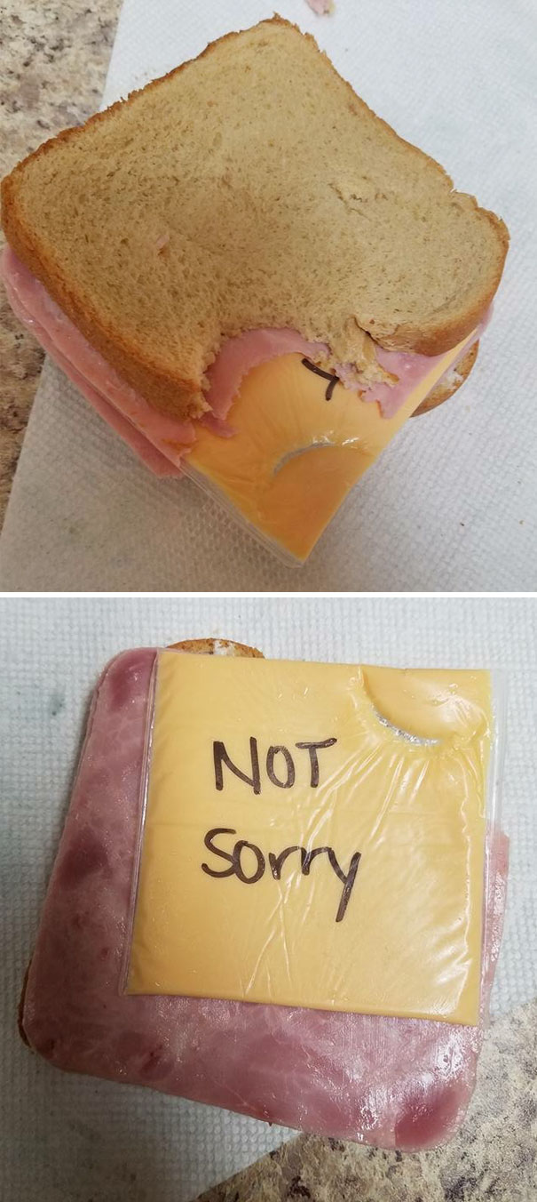 6. Called My Wife A Sandwich Maker