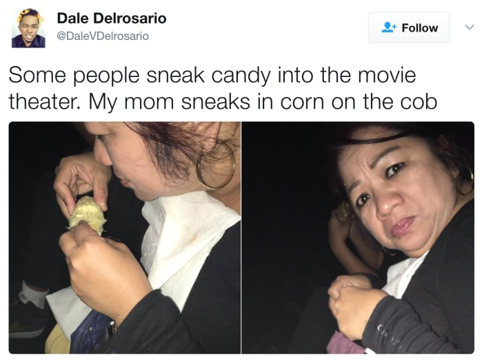 13. This mom who knows what snack she wants.