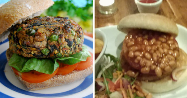 #12 Someone On The Northern Ireland Vegan/veggie Group Said They Ordered A Bean Burger And Got This. I Can't Stop Laughing