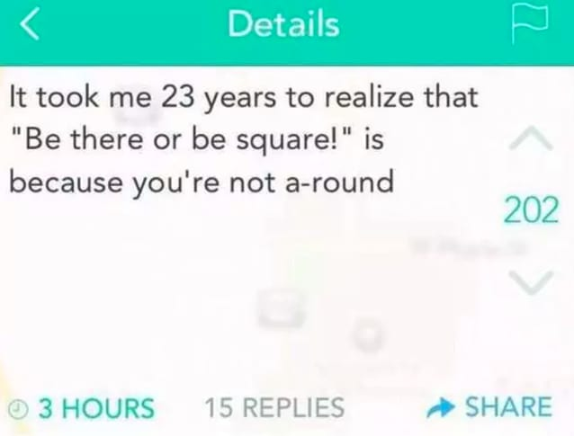 11. A-round squares: