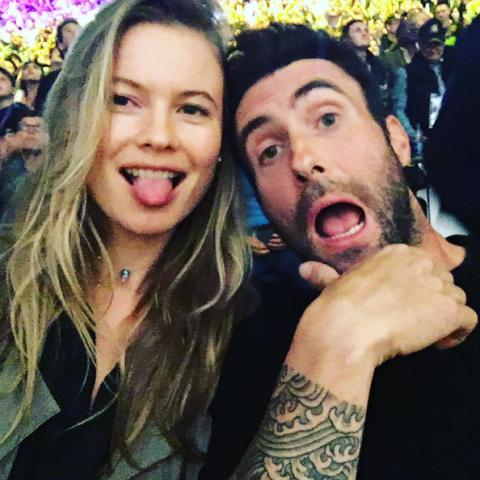 Adam Levine, Husband of Behati Prinsloo