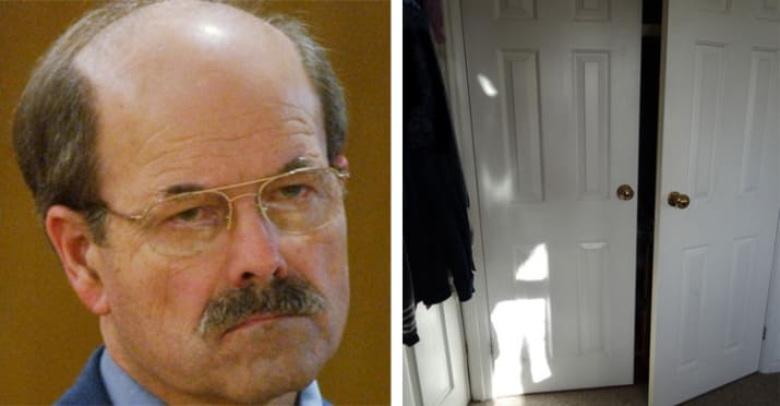 10. Serial killer Dennis Rader would sometimes spend time in his victim's houses, hiding in their closets until they were at their most vulnerable.
