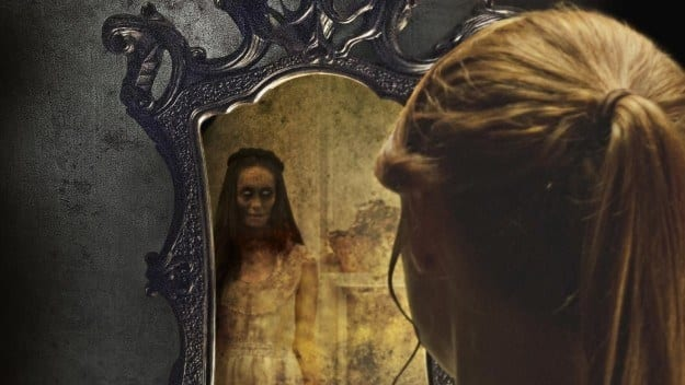 16. Your brain can play tricks on you to make you see monsters in the mirror, called the Troxler Effect.