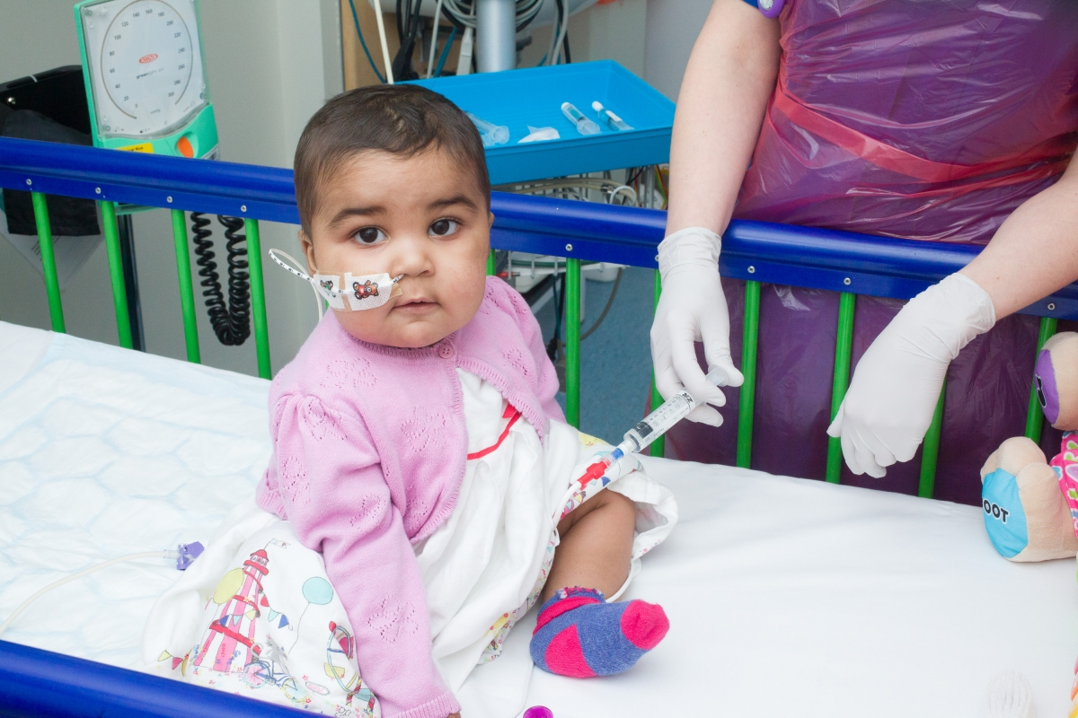 Layla was dying. Her young body simply could not stand the chemotherapy or radiotherapy that would be required.