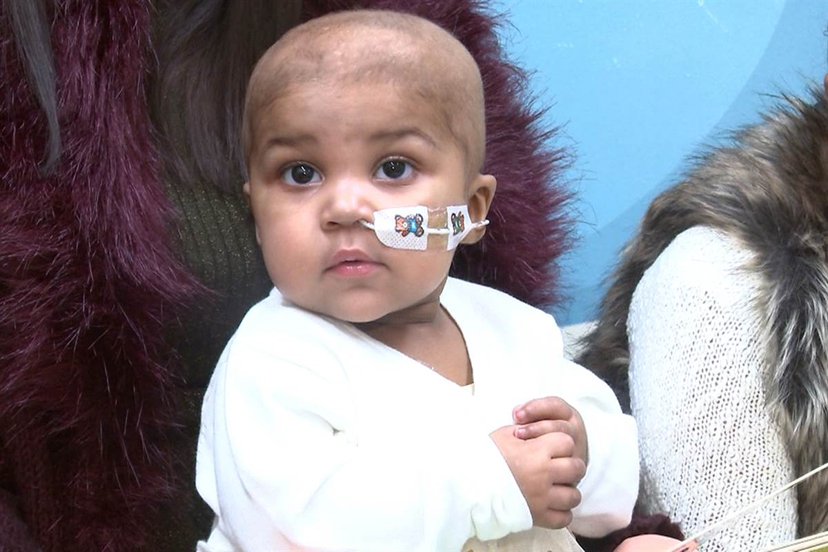 Doctors at Layla's hospital suggested Immunotherapy.