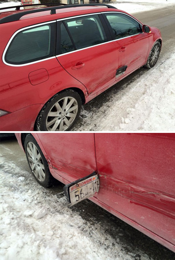 8. Karma: Friend's Car After A Hit And Run