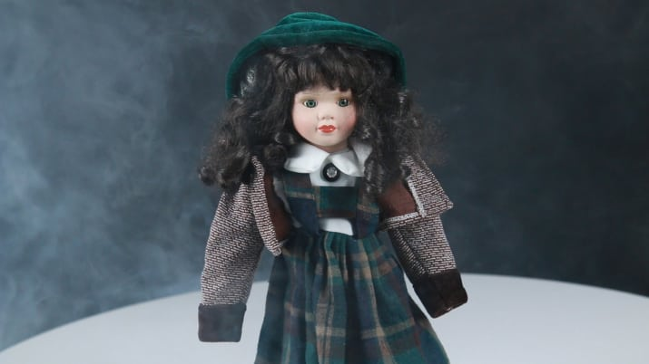 This is my haunted doll.
