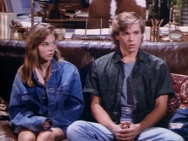 Brad Pitt, Dallas TV series (1987)