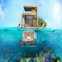 Dubai's Floating Villa With Underwater Bedroom Will Give Your Dreamhouse Wings