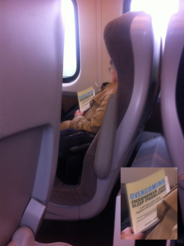 #13 Saw This Woman Asleep On The Train Today