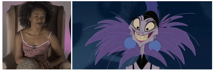 Freddie was going to be transformed into Yzma from The Emperor's New Groove: