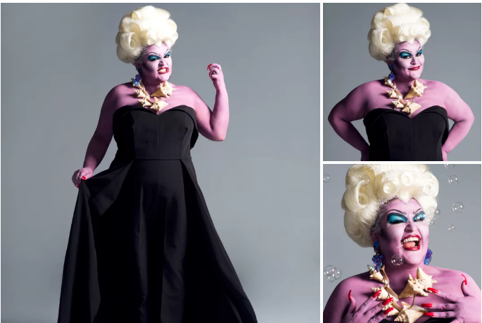 Here's Kristin killing it as Ursula (Click the photos to see the full-size images!):