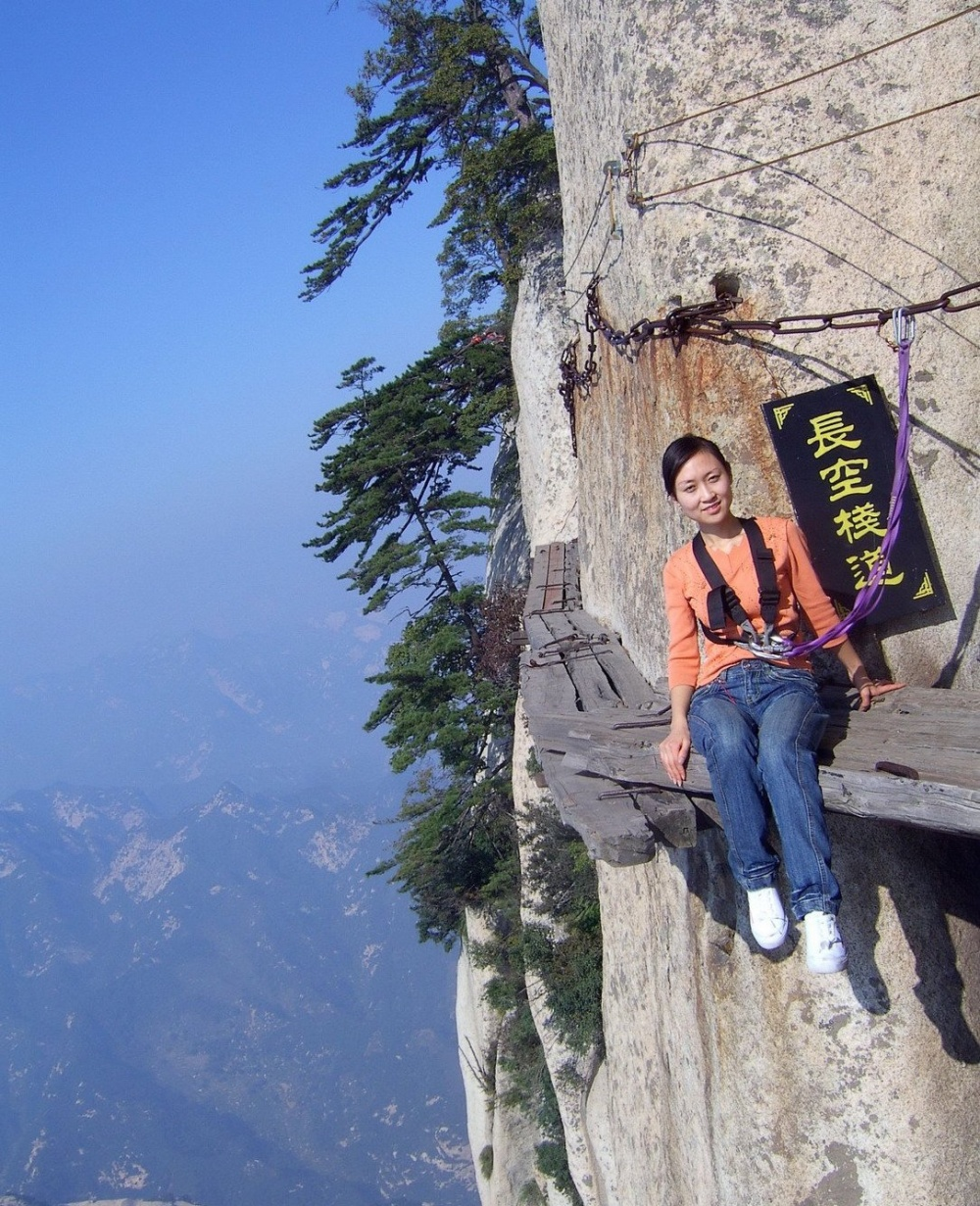 The path of death (height: 2,130 metres), China