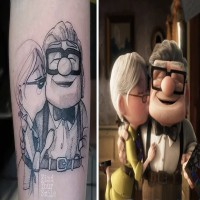 19 Beautiful Tattoos That Were Inspired By Movies