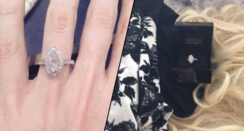 This model has listed her engagement ring on eBay in a hilariously honest post after finding out her fiance's secret in the most unexpected of ways.