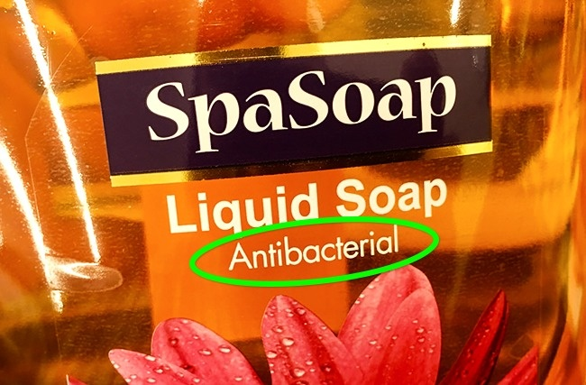 Using antibacterial soap often
