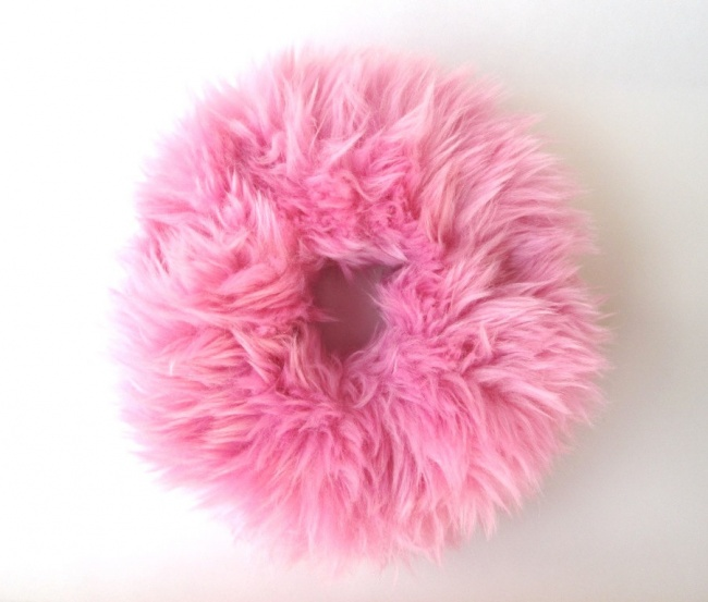 Fluffy hair ties